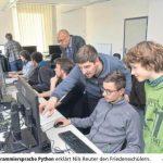 Kooperation mit der HSHL: Programmiersprache