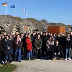 Friedensschüler auf  Zeitreise in die Geschichte des  Ersten Weltkrieges